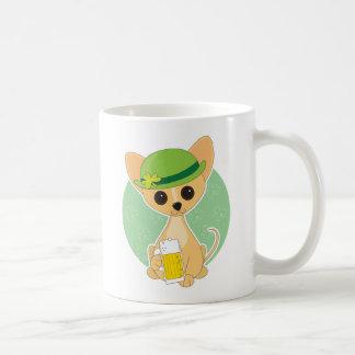 チワワSt. Pat コーヒーマグカップ