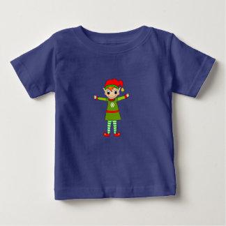 チンサルのベビーのTシャツ ベビーTシャツ