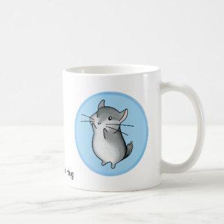 チンチラの抱擁 コーヒーマグカップ