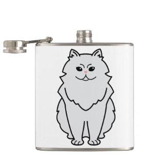 チンチラ猫の漫画 フラスク