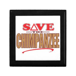 チンパンジーの保存 ギフトボックス
