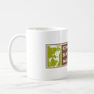 チンパンジーの聖域の北西11oz白のマグ コーヒーマグカップ