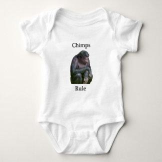チンパンジーの規則 ベビーボディスーツ