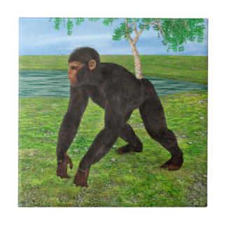 チンパンジー タイル