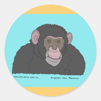 チンパンジー ラウンドシール