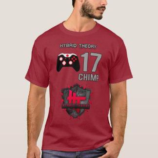 チンパンジーhT -雑種理論ジャージー Tシャツ