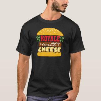 チーズとのRoyale Tシャツ