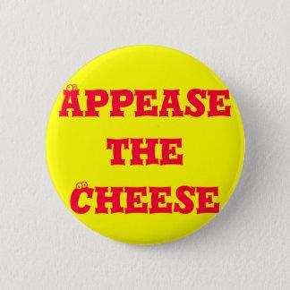 チーズをなだめて下さい 缶バッジ