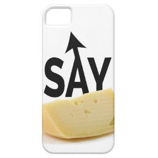 チーズを言って下さい iPhone SE/5/5s ケース