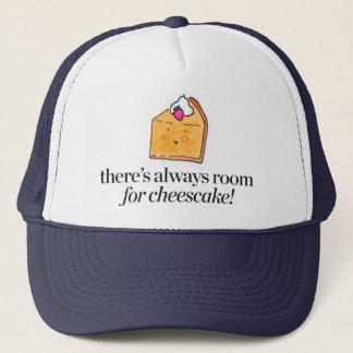 チーズケーキのための部屋が常にあります キャップ
