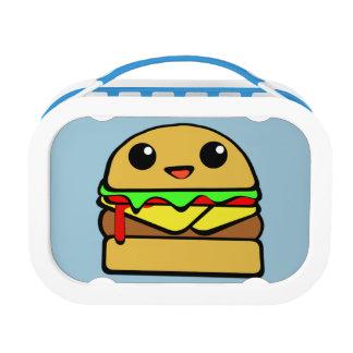 チーズバーガーのキャラクター ランチボックス