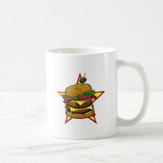 チーズバーガーのマグ コーヒーマグカップ