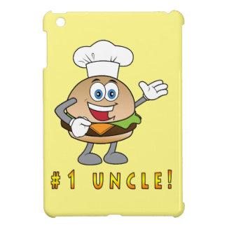 チーズバーガーを持つ第1叔父さん iPad MINI カバー