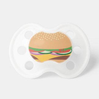 チーズバーガー おしゃぶり