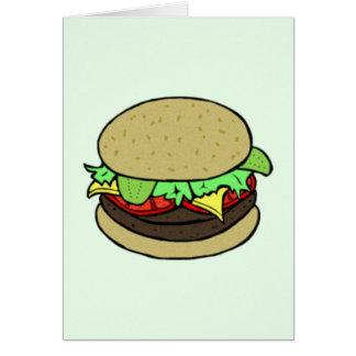 チーズバーガー カード