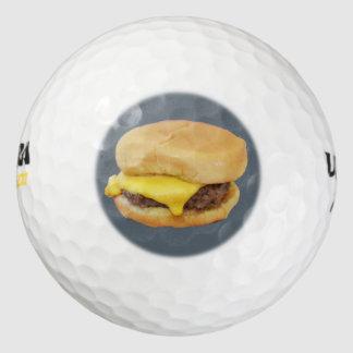 チーズバーガー ゴルフボール
