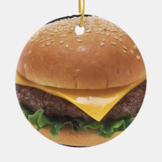 チーズバーガー セラミックオーナメント