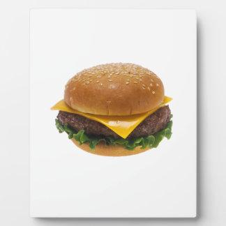 チーズバーガー フォトプラーク