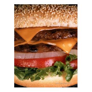 チーズバーガー ポストカード