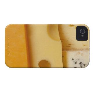 チーズ切れのクローズアップ Case-Mate iPhone 4 ケース