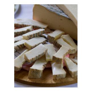 チーズ前菜 ポストカード