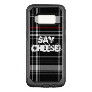 チーズ格子縞を言って下さい オッターボックスコミューターSamsung GALAXY S8 ケース