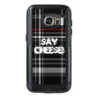 チーズ格子縞を言って下さい オッターボックスSamsung GALAXY S7ケース