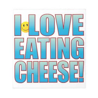 チーズ生命Bを食べて下さい ノートパッド