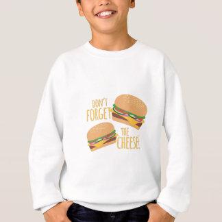 チーズ スウェットシャツ