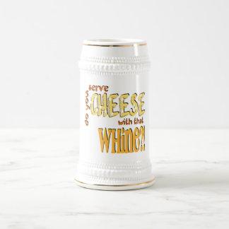 チーズ-ステイン ビールジョッキ