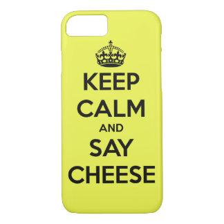 チーズ iPhone 8/7ケース