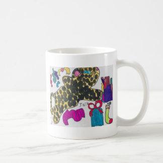 チータのクリスマス コーヒーマグカップ