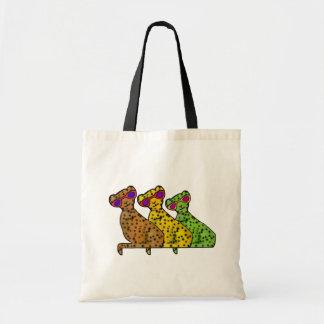 チータのクールな猫 トートバッグ