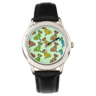 チータのクールな猫 腕時計