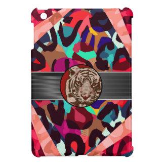 チータのトラの抽象芸術 iPad MINIカバー