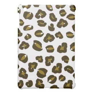チータのヒョウの皮の点のプリントの自然パターン iPad MINIケース