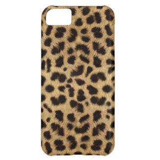 チータの毛皮パターン、チータのプリント iPhone5Cケース