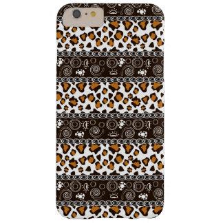 チータの皮パターンを持つアフリカ人 BARELY THERE iPhone 6 PLUS ケース