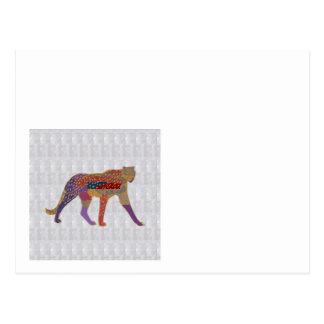 チータの野生動物GRANDcard TEAMcard NVN495 ポストカード