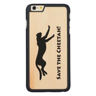 チータを救って下さい CarvedメープルiPhone 6 PLUS スリムケース