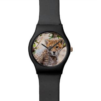 チータ、Maasaiマラの国立保護区 腕時計
