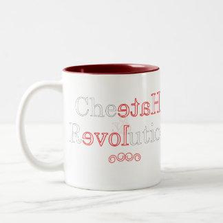 チータRevolution.ai ツートーンマグカップ