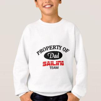 チームを航海しているパパ スウェットシャツ