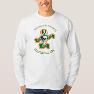 チームを飲む名前入りでおもしろいなSt patricks day Tシャツ