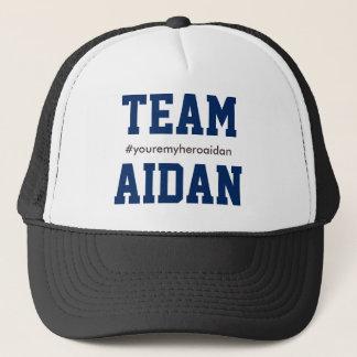 チームアイダンの自閉症の認識度のトラック運転手の帽子 キャップ