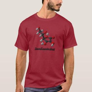 チームアスコルビン酸(化学分子のビタミンC) Tシャツ