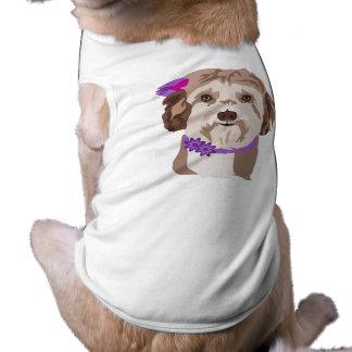 チームアメリアのワイシャツ ペット服