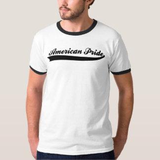 チームアメリカ: アメリカのプライドのSwooshの黒 Tシャツ