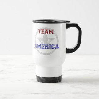 チームアメリカ トラベルマグ