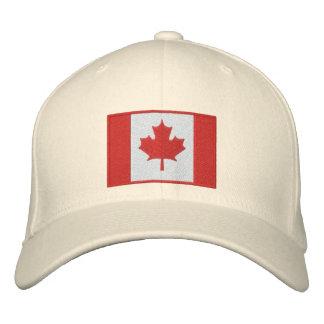 チームカナダ2010の日付がついた記念品 刺繍入りキャップ